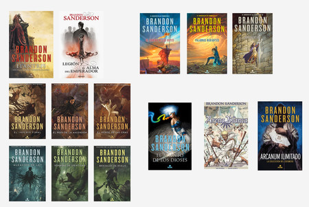 Cosmere Covers